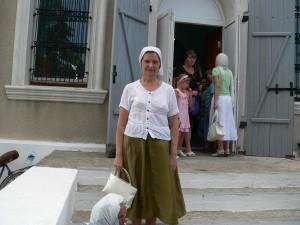 Ирина Ивановна в нашем храме